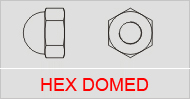 Hex Domed